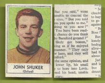 Oxford United John Shuker 1969